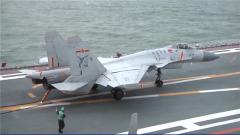 【國防部例行記者會】雙軌推進 艦載戰斗機飛行員培養取得歷史性突破