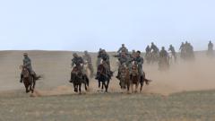基礎課目難度高 看民兵騎兵賽場出擊
