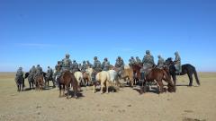 策馬揚鞭守邊疆 走近馬背上的民兵