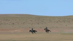 接力賽馬!草原騎兵的速度與激情