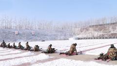 武警白城支队新兵首次开展昼夜间实弹射击考核