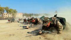 武警北京总队严密组织新兵战术训练