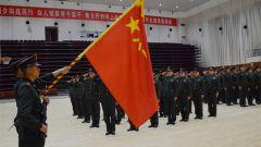 告別軍旗!戰略支援部隊某部舉行士兵退役儀式
