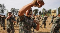 戰略支援部隊某新兵團舉行軍事比武競賽曁新訓第二階段考核