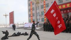 武警新疆總隊喀什支隊組織強軍戰歌歌詠比賽