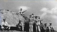 火炮群猛轰 国民党主力团24个小时竟拿不下410高地