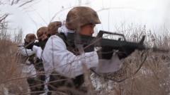 新疆軍區塔城軍分區開展實戰化防偷襲演練