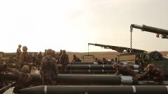 火力部署炮彈裝填 遠火營最年輕炮班如何爭第一?