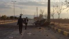 """【伊朗核物理學家遇刺身亡 引發中東""""巨震""""】 伊朗媒體稱暗殺由遙控自動機槍完成"""