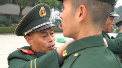 武警湖南總隊舉行2020年度新兵授銜宣誓儀式