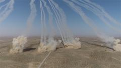 多枚火箭彈集中射擊!看遠火營如何克敵制勝