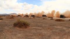 大漠戈壁火力強大 如何判斷炮彈落點離靶心距離?