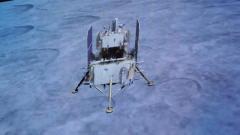 嫦娥五號探測器成功著陸月面