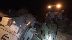 蘇丹:中國維和官兵救援聯合國維和部隊步戰車