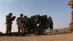陸軍第79集團軍某合成旅組織跨晝夜實彈射擊演練