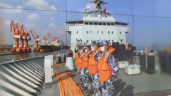 海軍第36批護航編隊完成首批國內物資補給