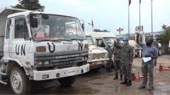 """剛果(金):中國維和工兵分隊""""全優""""通過聯合國裝備核查"""