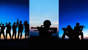 【军视界】直击特战队员野外驻训场,这组剪影太美了!