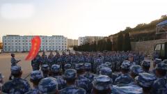 海軍某教導大隊 拉歌賽歌豐富新兵多彩文化生活