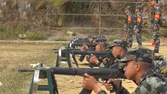 武警廣西總隊組織新兵開展實彈射擊考核