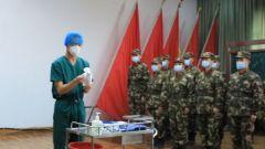 武警湖南總隊岳陽支隊開展2020年度衛生員集訓