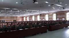 武警部隊開展理論服務走基層活動