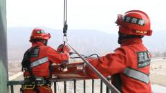 武警青海總隊某機動支隊:多專業聯合演練 提升應急救援能力