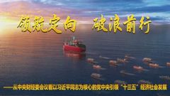 """从中央财经委会议看以习近平同志为核心的党中央引领""""十三五""""经济社会发展"""