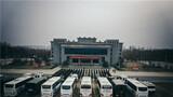 """近日,武警邯郸支队组织开展第四季度""""魔鬼周""""极限训练。图为出征仪式。"""