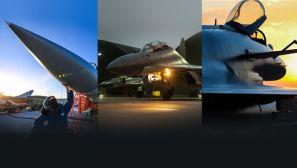 【军视界】加力升空 声如滚雷 战机飞行训练正在进行中