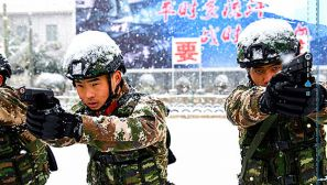 冬至到,练兵忙,感受武警北京总队某支队火热的练兵氛围