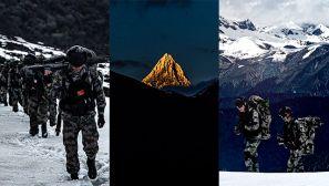 【军视界】高原雪山 官兵挺进陌生雪域提升适应能力