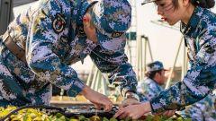 东部战区海军航空兵某场站岗位练兵比武  30余个项目轮番上演