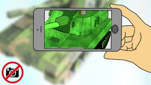 手机使用漫画丨始终绷紧安全保密这根弦