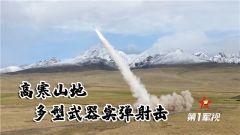【第一军视】高寒山地 多型武器实弹射击真带劲