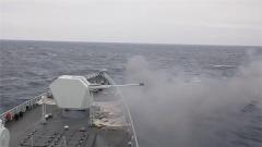 从难从严 海军部队新年开训展开实战化专攻精练
