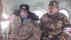 新疆军区某陆航旅直升机紧急转运患病战士