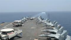 """杜文龙:布局波斯湾 美军武器装备基本完成在伊朗周边""""筑墙"""""""