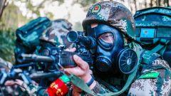 场面堪比大片丨武警部队火热开训练兵忙