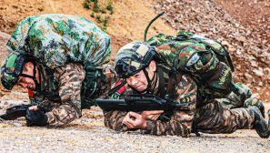猛勇顽强丨武警广西总队极限训练震撼来袭