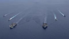 英国航母编队将进驻亚太 专家:英美欲借岛链战略打造印太军事战略网