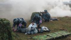西部战区空军某场站组织开展群众性练兵比武活动