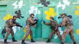 近日,武警山西省总队阳泉支队开展战术课目训练,为遂行急难险重任务打下坚实基础。