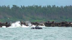 风高浪急 危机四伏 蛟龙3小队及时做出正确判断迅速划出漩涡