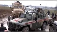 重型货车撞上俄军巴士 造成俄军人4死42伤
