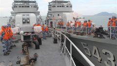 南部战区海军某护卫舰支队科学组训提升基础训练水平