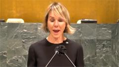 """苏晓晖:美常驻联合国代表滥用权力""""摆拍""""涉台视频 上演任期最后的""""表演"""""""