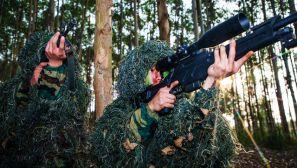 """揭秘武警狙击手如何练就战场""""幽灵"""""""