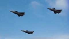 """解放军战机今年首度正面回呛台军广播驱离 """"20系列""""战机亮剑"""