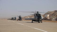 新春走军营丨直击多型直升机大场次跨昼夜飞行训练